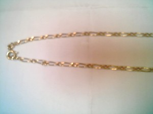 COLLIER ./ PLAQUE OR
