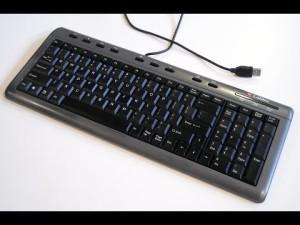 1 CLAVIER PC DELL USB