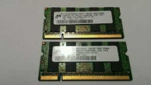2 GB DDR2 - BARETTE RAM UC