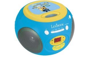 RADIO LECTEUR CD LEXIBOOK MINIONS