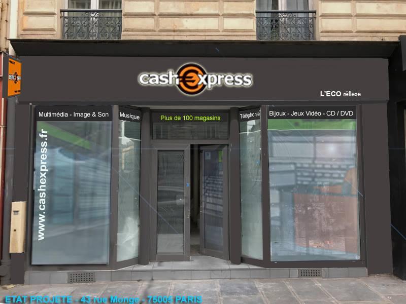 paris 05 magasin cash express. Black Bedroom Furniture Sets. Home Design Ideas