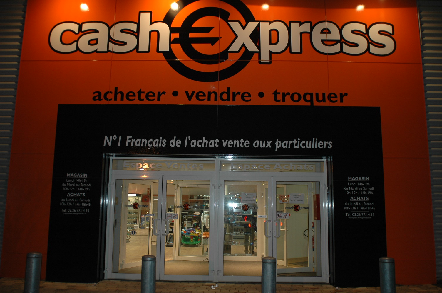 reims neuvillette magasin cash express