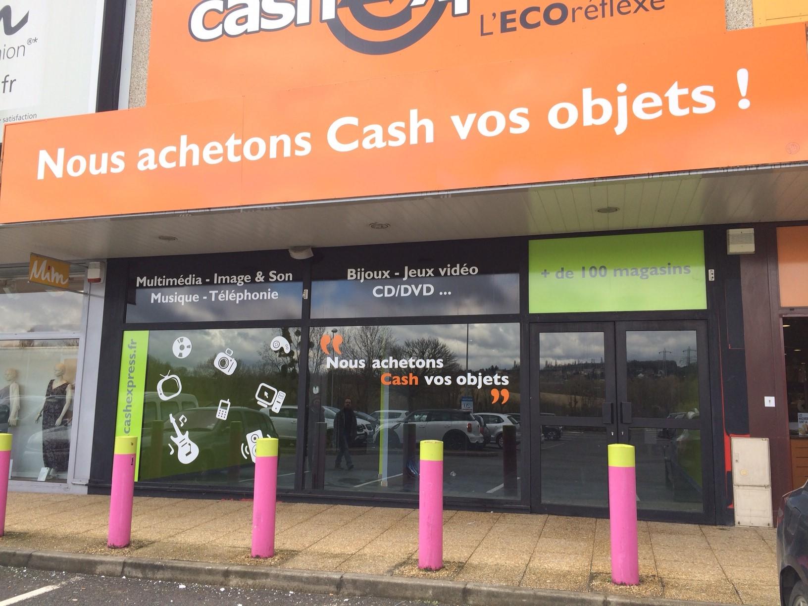 Villebon magasin cash express for Franchise cash piscine